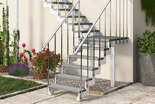 Super Außentreppen für Haus und Garten XA71