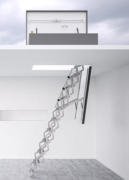 Dachbodentreppen Warmegedammt Und Luftdicht