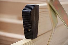 zubeh r f r dolle bodentreppen handlauf gel nder fu kappen. Black Bedroom Furniture Sets. Home Design Ideas