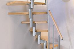 mittelholmtreppe von dolle zur einfachen selbstmontage. Black Bedroom Furniture Sets. Home Design Ideas