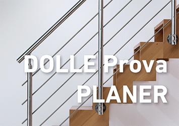 das flexible Geländersystem Prova von DOLLE