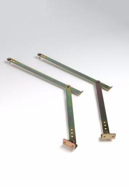 Knickhebel-Set für DOLLE kompakt, Isotrend, Isoplus, pur