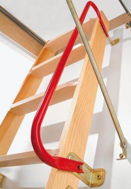 Bodentreppe Handlauf Stahl