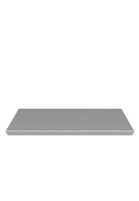 TRIMAX Stufe grau für Außentreppen Gardenstep, 80 oder 120 cm Breite