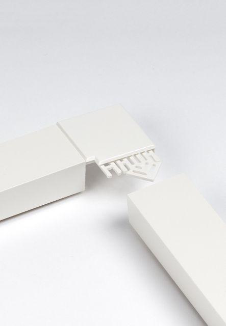 Abdeckleisten Kunststoff (alu-fix mit Lukenkasten)
